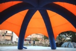 Classic Inflatable spider dome with 6 air columns