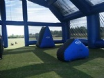 new mobile Inflatable Paintball Arena