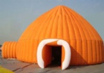 portable inflatable yurt dome tents for cold weather