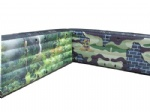 inflatable paintball long low wall