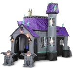 Halloween inflatable haunted castle tent