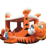 hottest tiger king kids inflatable bouncer for carnival