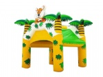 tiger king air tight inflatable Tent for children party