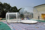 IT-176-transparent inflatable beach sunset and camping clear dome inflatable tent