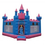 Disney princess palace inflatable castle combo