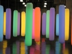 Light Up Inflatable Columns