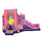Disney Princess Inflatable Bouncer Castle with Slide