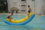 NEW inflatable water totter for adults and kids