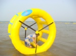 inflatable rolling ball  inflatable water wheel  water roller
