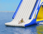 inflatable water slide with climbing