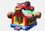 Monster Truck cheap kids inflatable bouncy house for carnival