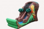 2012 new tree house inflatable slide for birthday party rental