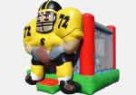 football / soccer/rugby goalkeeper inflatable bouncer house for kids