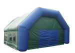 outdoor inflatabe air tighted marquee for car parking
