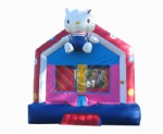 hello kitty bounce houses manufacture in China