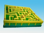 large inflatable maze interactive inflatable labyrinth games