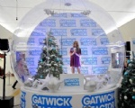 life size snow globe clear inflatable dome for live show