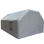 white air sealed PVC tent inflatable building as temporary air structure