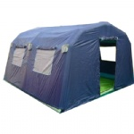 outdoor air sealed inflatable PVC shelter tent with floor cover