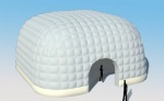 affordable inflatable white dome tent from manufacture for sale