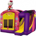 Hello kitty inflatable bouncer, Bounce House, ,bouncy inflatable castle