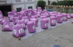 inflatable Paintball bunker arena for paintball sports
