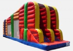 zip line adventure experience in portable Zip Line Inflatable Game