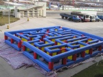 Cheap commercial inflatable labyrinth game