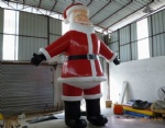 Giant Xmas inflatable santa decoration