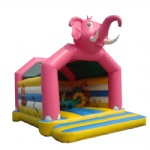 Cartoon Elephant Inflatable Bounce House