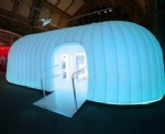 inflatable pods mobile meeting room
